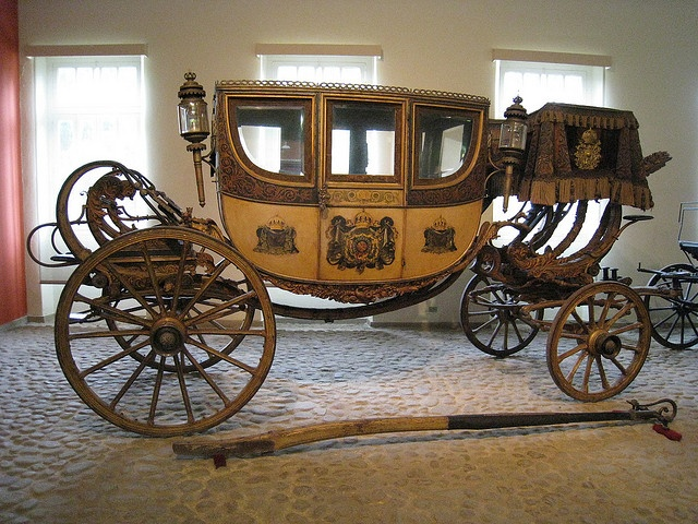 Royal Carriage, Museu Imperial, Petropolis Brazil by Boston Runner, via Flickr