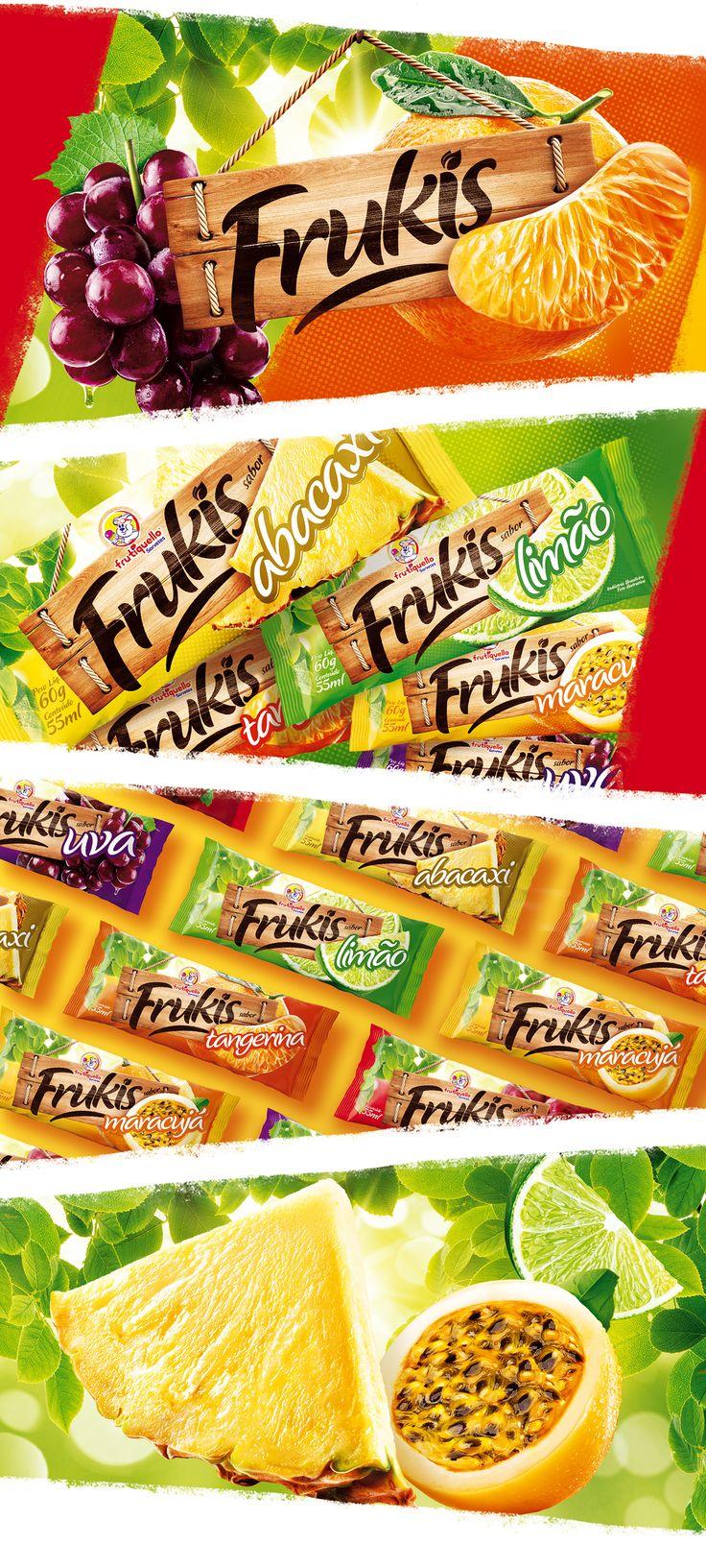 Picolés Frukis on Behance