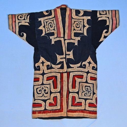 Ainu coat (Japan). (via British Museum)