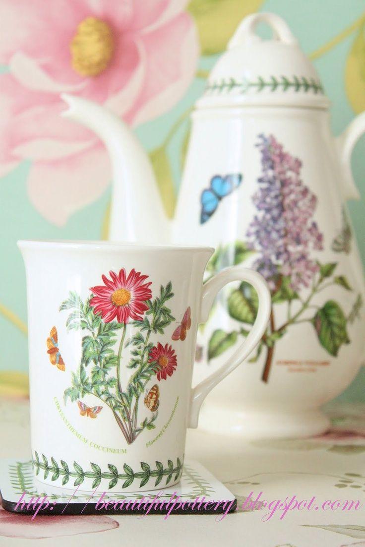 portmeirion lilac and chrysanthemum
