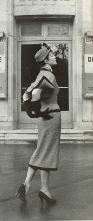 Vintage Suit by Marcel Rochas 1950