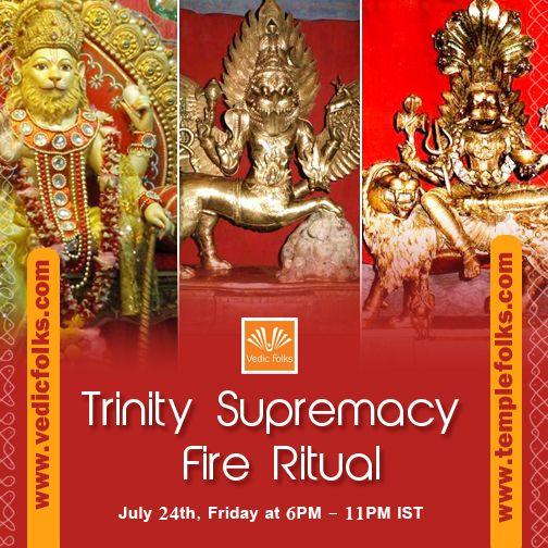 #TrinitySupremacyfireRitual – For Lord Narasimha, Lord Sarabeswarar & Pratyangira Devi Live Webcast on