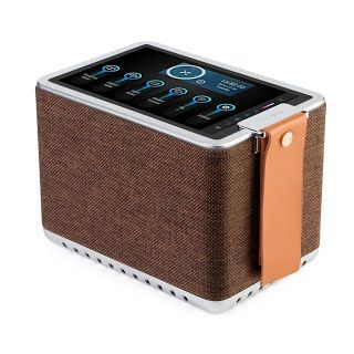 "[Features & Benefits] Sonicgrace WIFI Internet Radio Bluetooth Speaker with 8"" High Definition Touchscreen, HD Sound Extra Bass Music Player for Stream Music(Brown)"