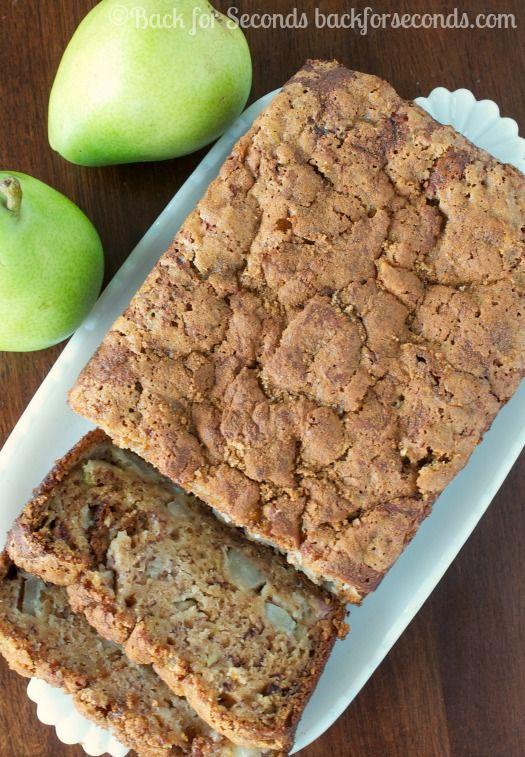 The 25 best pear bread ideas on pinterest pear recipes for Pear recipe ideas