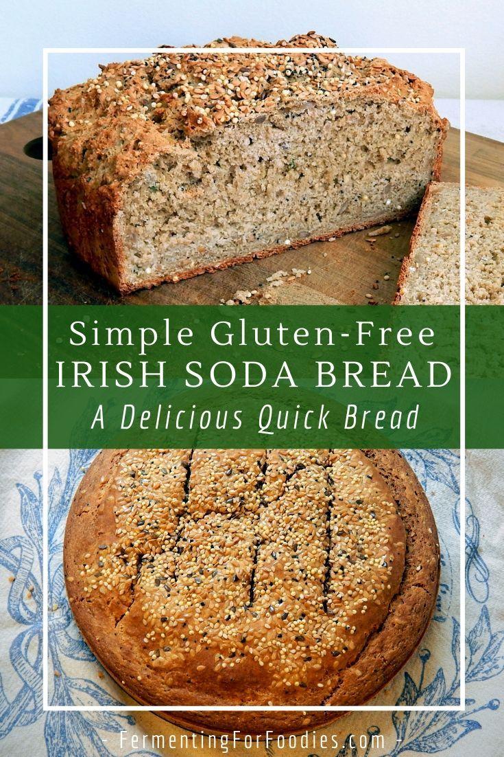 Gluten Free Soda Bread Fermenting For Foodies Recipe In 2020 Gluten Free Soda Bread Gluten Free Soda Soda Bread
