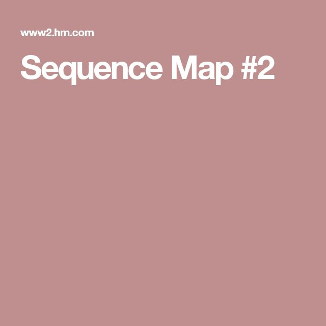 Sequence Map #2