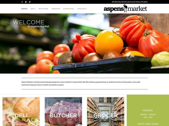 Aspens Market is a locally owned grocery store & deli in Jackson Hole. We offer prepared food, butcher, fresh produce, and an assortment of grocery items.