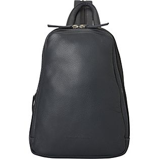 This soft leather backpack is perfect for a trip across the world or down the street.