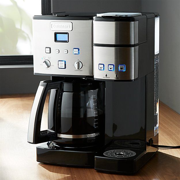 Cuisinart Coffee Center 12 Cup Coffeemaker and Single Serve Brewer + Reviews | Crate and Barrel ...