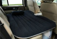Road trips are fun, but long-distance trips will take a toll eventually because cars aren't exactly made with comfort in mind. Cue the Inflatable Car Bed that transforms the entire