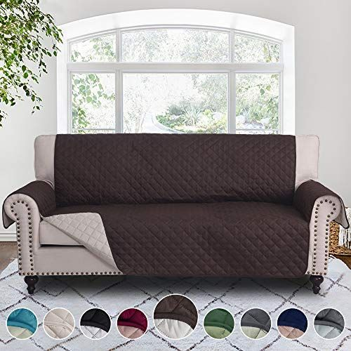 Rhf Reversible Sofa Cover Couch Covers For 3 Cushion Couch Couch Covers For Sofa Couch Cover Sofa Covers For Living Room Couch Covers For Dogs S With Images Sofa Covers
