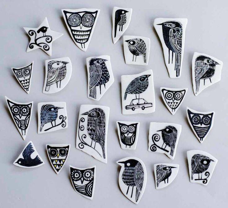 Karen Risby | Contemporary Ceramics Sculptures & Tiles | Suffolk