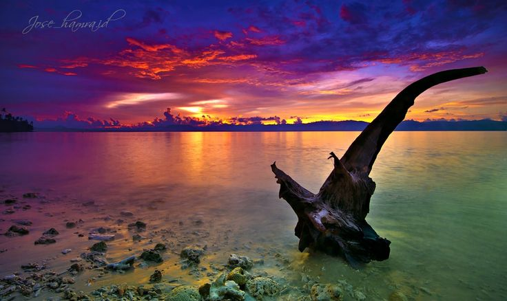 Twilight Sunset  - Tobelo, North Molluca, Indonesia
