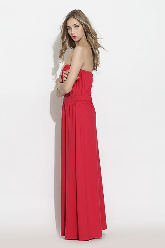 #furelle #springsummer2016 #summer #SS16 #fashion #newarrivals #red #raspberryred  #silesiastyle #newcollection #musthave #maxidress #dress #beauty #romantic #woman  #elegant #polishdesigner