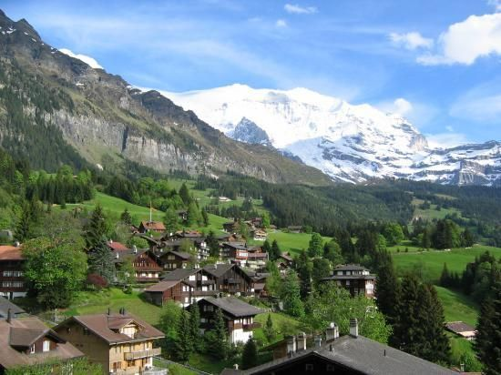Wengen Switzerland - One of the most breath-taking places