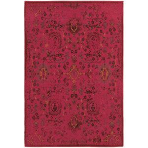 Sphinx By Oriental Weavers Revival 3692h Pink Area Rug
