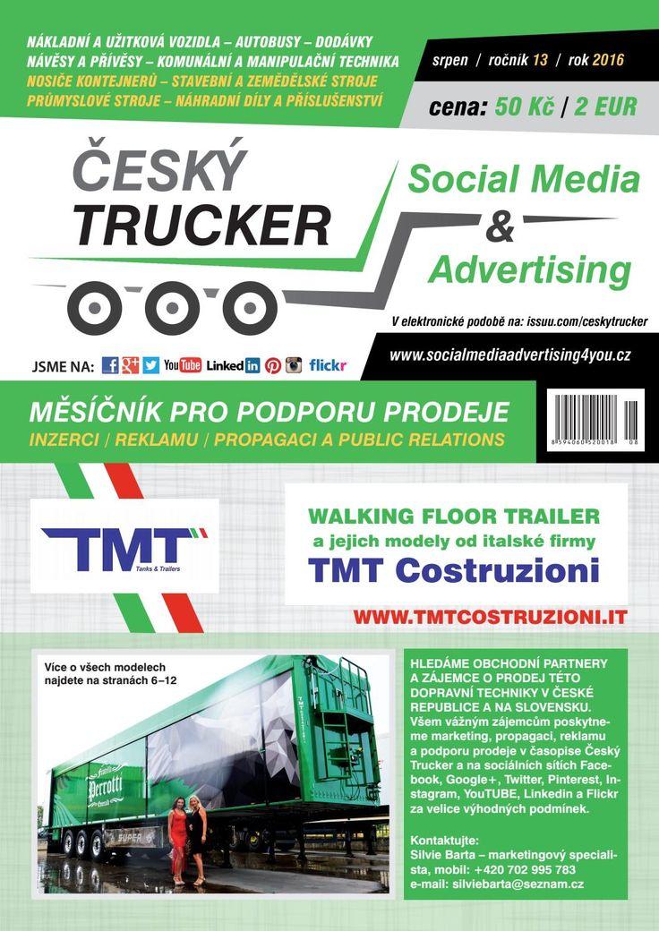 Český Trucker srpen 2016