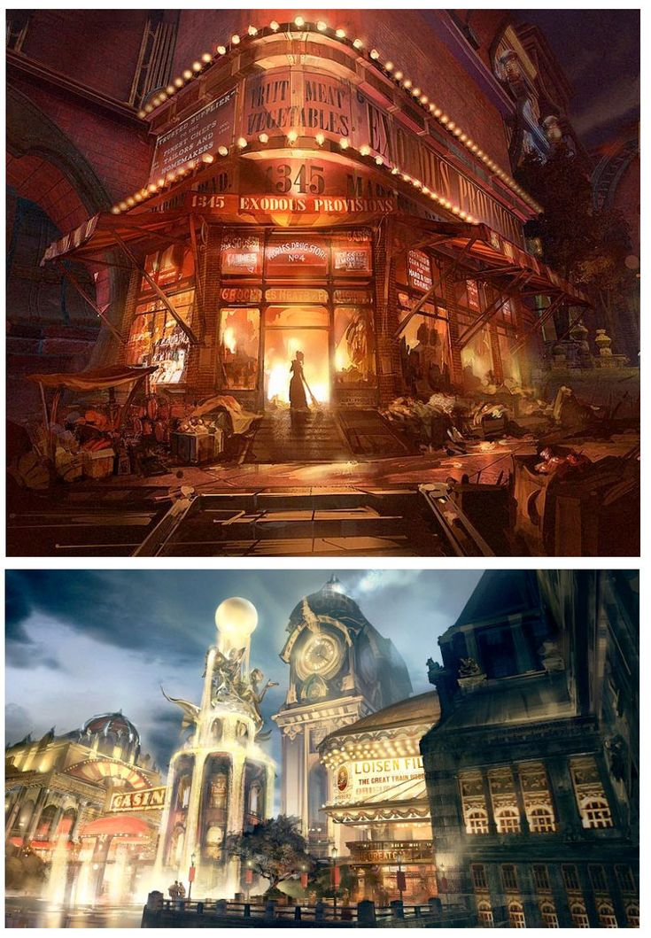 BioShock Infinite Concept Arts, Ben Lo (theconceptartblog, 2013)