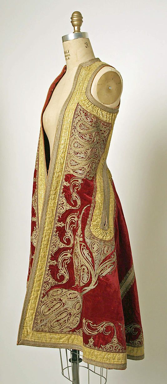 19th century Eastern European coat.  I would wear this EVERYWHERE!!!