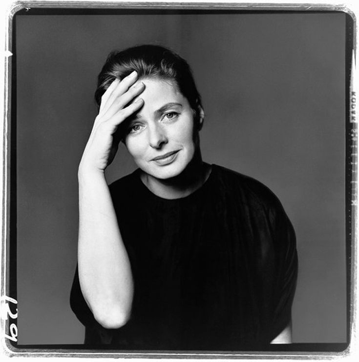 Ingrid Bergman by Richard Avedon. I love Avedon's portraits.