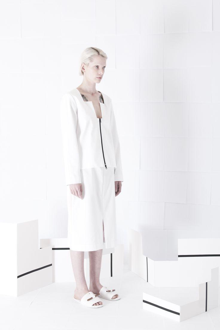 SS15 - Womenswear #orphanbird #ss15 #womenswear #minimalfashion #whitefashion #contemporary #design