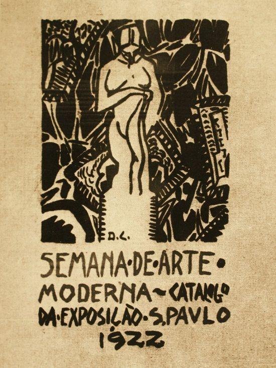 Catálogo da exposição Semana de Arte Moderna de 1922