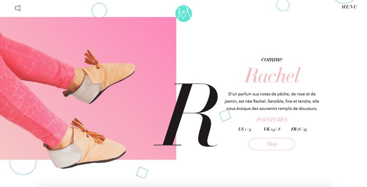 Mélanie F - Site of the Day January 30 2015
