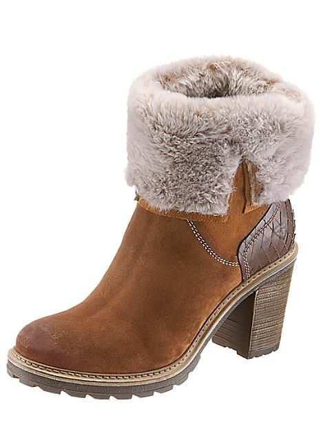 Tamaris Suede Ankle Boots