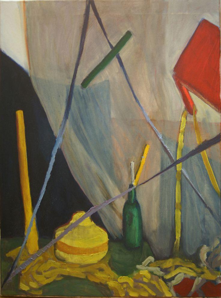 Martwa naura 4, Jan Markiewicz, olej na płótnie, 54 x 73 cm, 2015