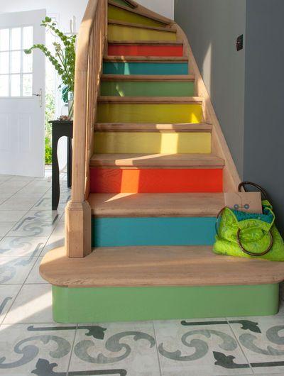 Aménagement escalier : 4 stratégies pour rafraîchir l'escalier de la maison - CôtéMaison.fr