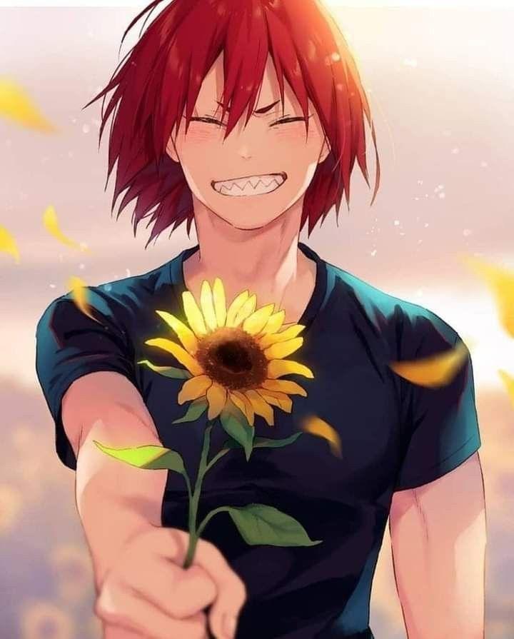 Anime, my hero academia, eijiro kirishima, wallpaper hd · kata kunci: Sunflower Kiri   Kirishima, Cute anime guys, My hero ...