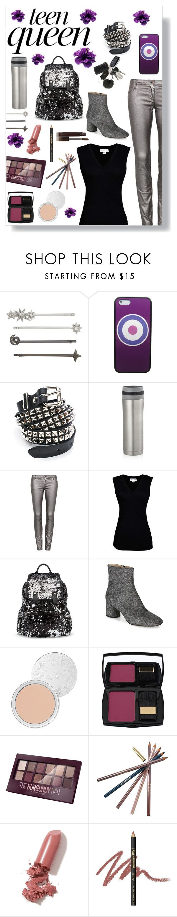 """Style Spotlight: Rebecca Barton"" by capfan2014 ❤ liked on Polyvore featuring Henri Bendel, Marvel, Funk Plus, Crate and Barrel, sass & bide, Velvet by Graham & Spencer, Miss Selfridge, Marc Jacobs, 100% Pure and Lancôme"