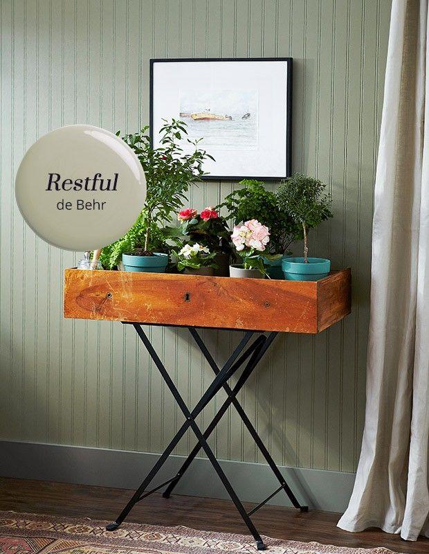 les 25 meilleures id es de la cat gorie peinture behr sur pinterest couleurs de peinture behr. Black Bedroom Furniture Sets. Home Design Ideas