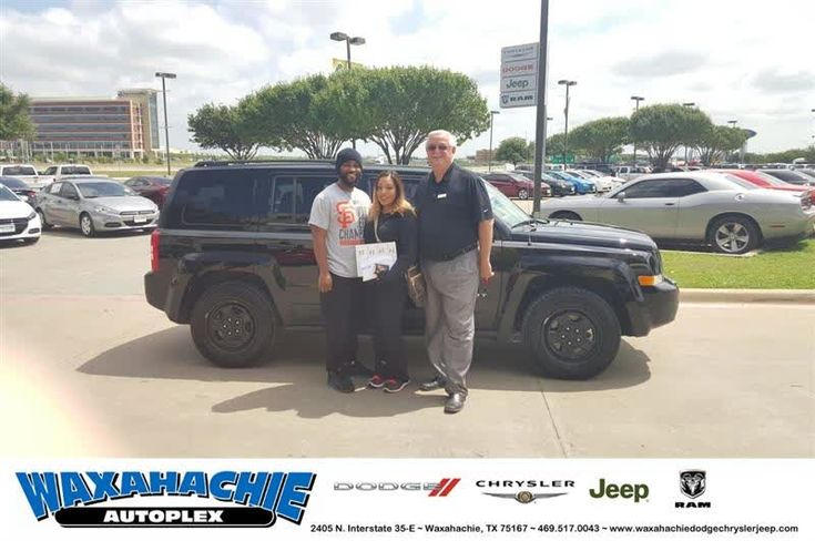 Happy Anniversary to Delphina on your #Jeep #Patriot from Mike White at Waxahachie Dodge Chrysler Jeep!  https://deliverymaxx.com/DealerReviews.aspx?DealerCode=F068  #Anniversary #WaxahachieDodgeChryslerJeep