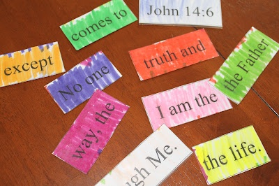 Teach Your Child Scripture With a Bible Verse Puzzle!