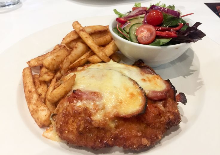 Chicken parma from The Dick Whittington Tavern, St. Kilda