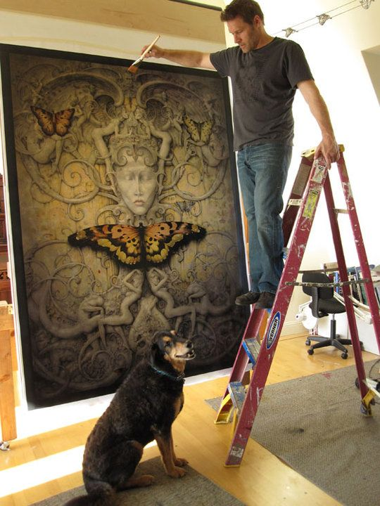 one of my fav pieces in the process of being born. You go Daniel Merriam!