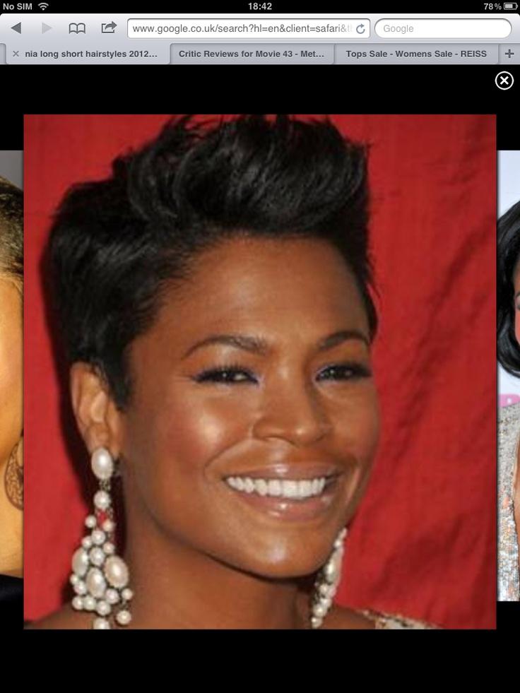 Nia Long always looks stunning with the short hair cut   Beauty   Pinterest   Nia long, Shorter ...