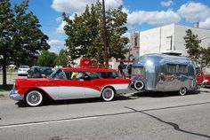 1957 Buick Wagon, w/Airstream Trailer | Flickr - Photo Sharing!