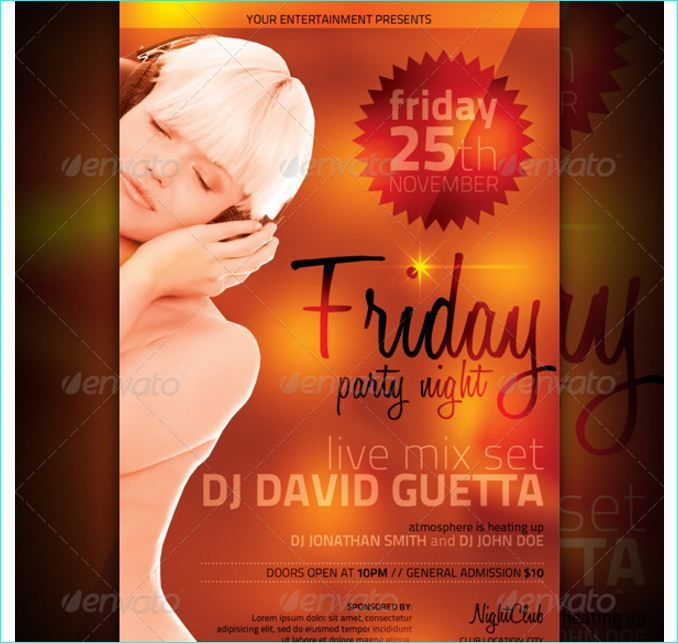 25 best Friday Flyer Template images on Pinterest Business - promotional flyer template