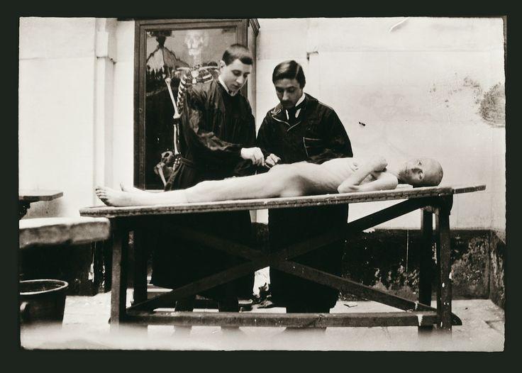 Clase de anatomia 1901