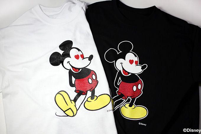 ジャム ホーム メイドから新ミッキーTシャツが登場 - 目がハートになったラメ加工バージョン | ニュース - ファッションプレス