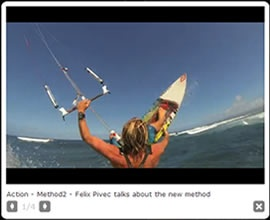 Method2 Born on the North Shore of Hawaii, the Method was purpose designed to give wave riders the perfect tool to experience the most natural surf feel possible. Top surfers have chosen the Method as their go to kite worldwide.  #method2 #switchkites #felixpivec #switch #kitesurfing