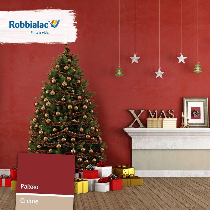 Decoração para o Natal. Todos os detalhes contam (sem esquecer os presentes debaixo da árvore!). Conheça a nossa gama de tintas para Salas numa loja Robbialac perto de si http://on.fb.me/1tZCcLZ.