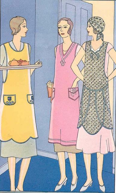 Vintage apron illustration by Woof Nanny, via Flickr
