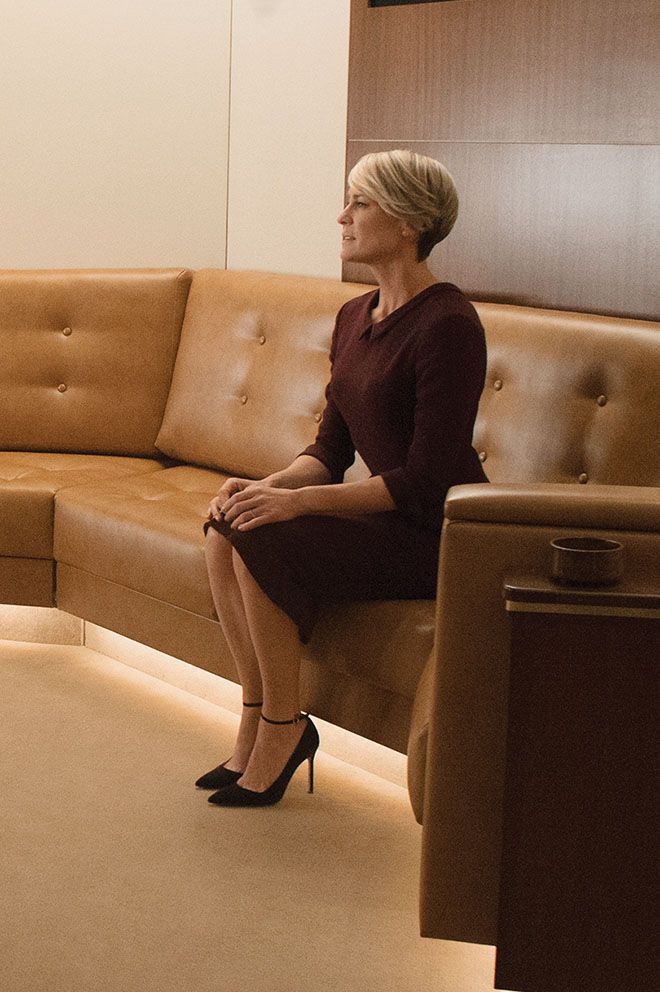 syle inspo: Robin Wright. Structured shift dresses. #styleinspiration #robinwright #claireunderwood