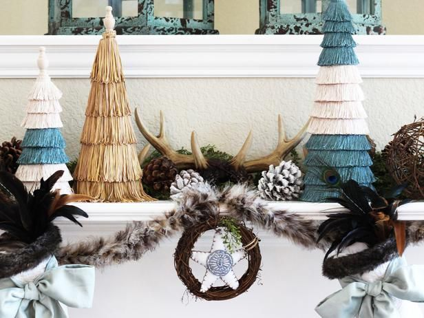 We have a winner! @Amy Bell {Positively Splendid}'s mantel design is going in the @HGTV Holiday House!