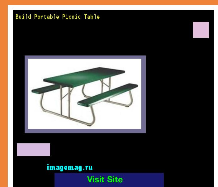 Build Portable Picnic Table 163424 - The Best Image Search