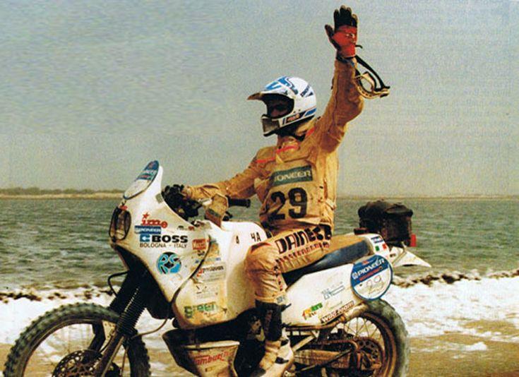 #Yamaha 600 proto #Dakar 89