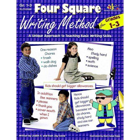 Lorenz Four Square Writing Method, Multiple Grade Levels, Multicolor
